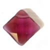 Facet Square Reconstructed B-grade 16in 12mm Amethyst